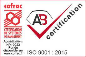 AB Certification iso 9001 : 2015